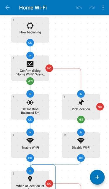 Это приложение позволяет соединять различные блоки на блок-схеме
